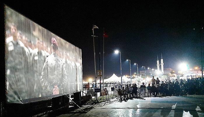 Lapseki'de Açıkhava Sinema Günleri Başladı