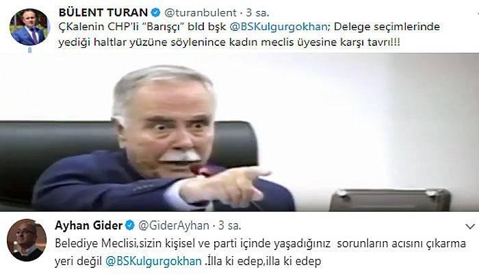 AK Partili vekillerden Gökhan'a tepki!
