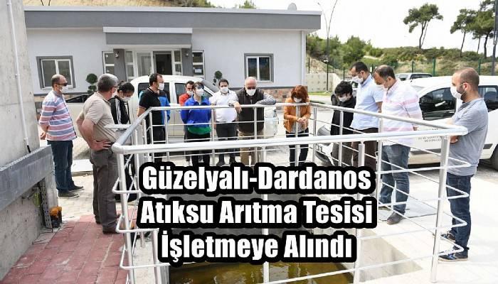 Güzelyalı-Dardanos Atıksu Arıtma Tesisi İşletmeye Alındı