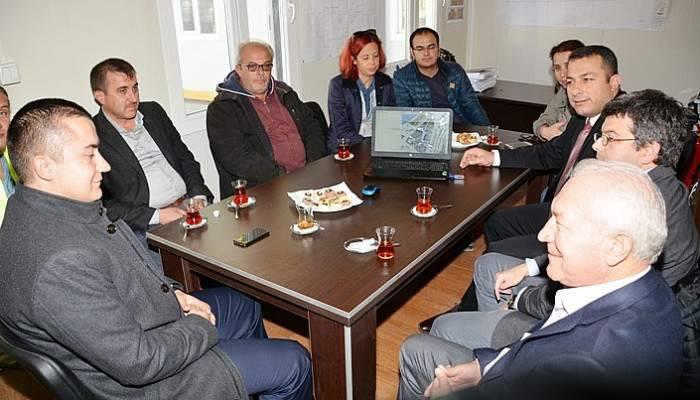 Genel Sekreter Aksoy Lapseki'de