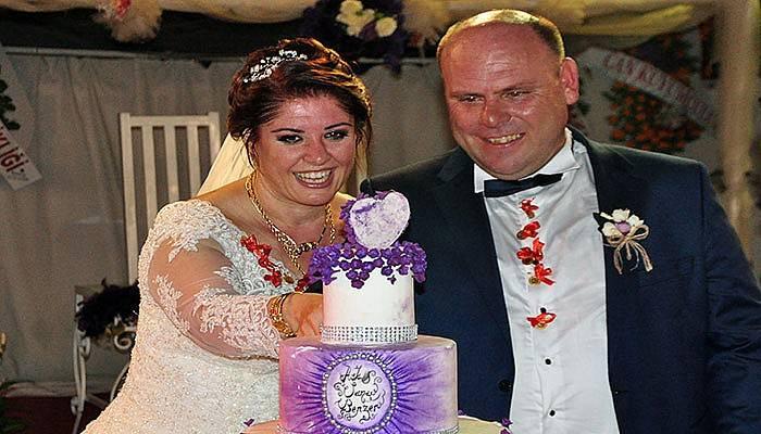 Bahçe Cafe'de Rüye Gibi Bir Düğün İle Evlendiler (VİDEO)