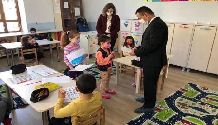 Vali Aktaş, Çınarlı Köyü'ne gitti