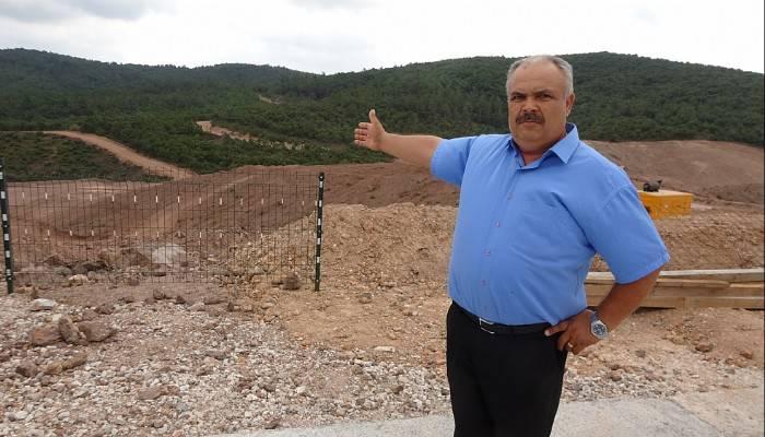 """Kirazlı köylüleri isyan etti: """"Maden sahası geçim kaynağı, dokunmayın"""" (VİDEO)"""