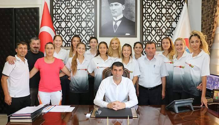 Kazdağı Sultanları'ndan Başkan Arslan'a ziyaret