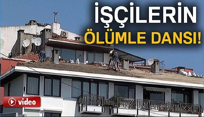 Beşiktaş'ta işçilerin ölümle dansı