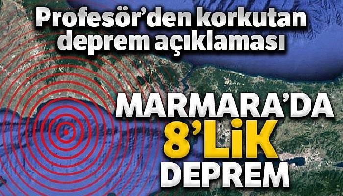 Prof. Dr. İnan'dan korkutan açıklama: 'Tamamı kırılırsa 8'e yakın deprem üretebilir'