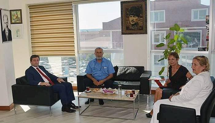 Vali Tavlı'dan, Kepez Belediyesine ziyaret