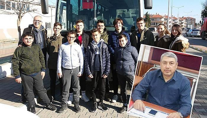 Gelibolu Avcılar Kulübü sporcuları Şampiyonaya Uğurlandı