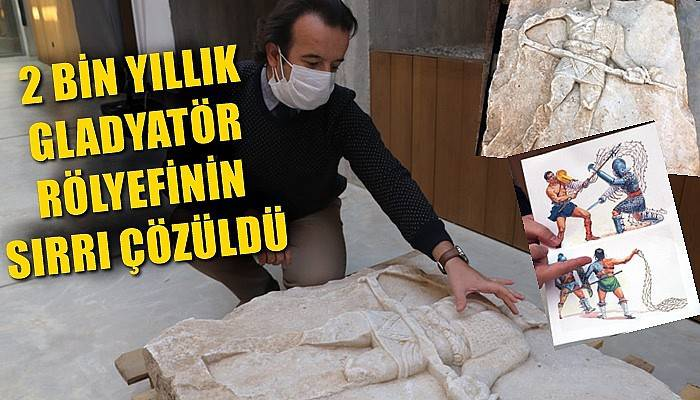 2 bin yıllık gladyatör rölyefinin sırrı çözüldü (VİDEO)