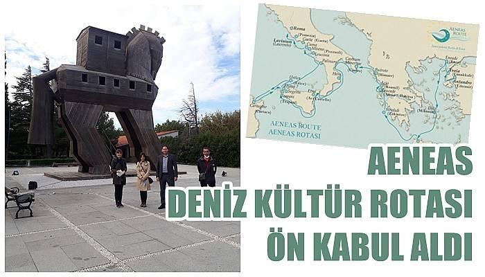 Aeneas Deniz Kültür Rotası ön kabul aldı
