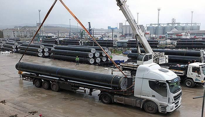 Azeri Gazını Taşıyacak Tanap Projesi Çanakkale'ye Dayandı