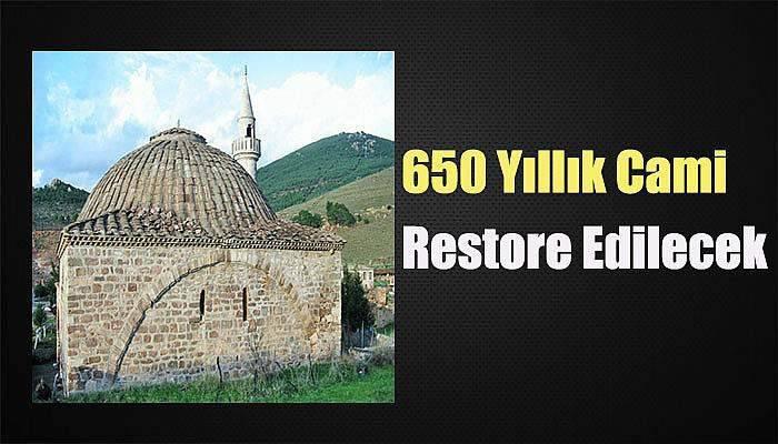 Ayvacık'taki 650 Yıllık Cami Restore Edilecek