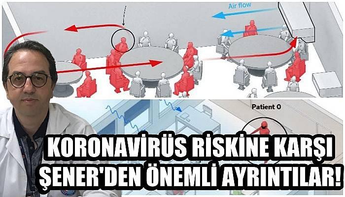 Koronavirüs riskine karşı Şener'den önemli ayrıntılar!