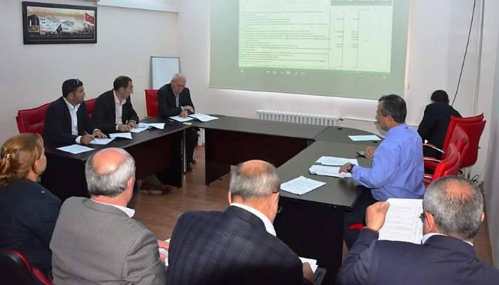 Lapseki Belediyesi tahmini bütçe çalışmaları tamamlandı