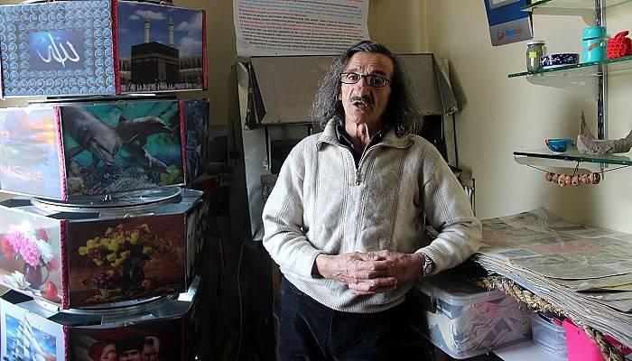 81 il 800 ilçe gezdi, kendisini filozof ilan etti (VİDEO)