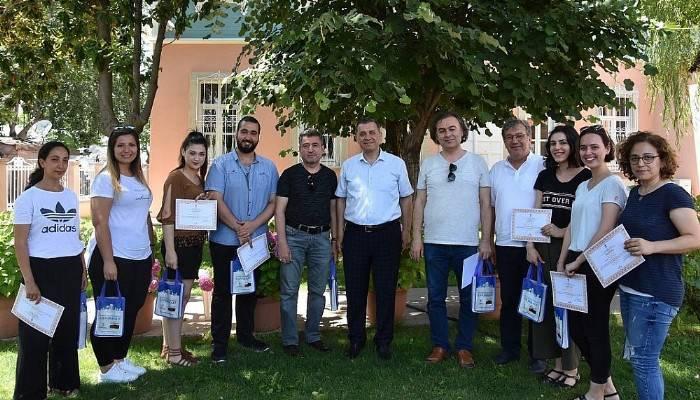 ÇOMÜ Güzel Sanatlar Fakültesi'nden Çanakkale Kültür ve Turizm Müdürü'ne ziyaret