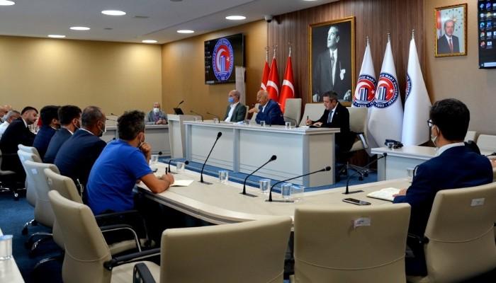 ÇOMÜ MYO Müdürleri Toplantıda Bir Araya Geldi