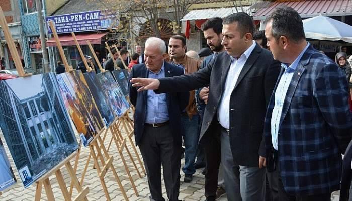 Milli İrade ve Demokrasi Yolunda Sergisi Lapseki'de açıldı