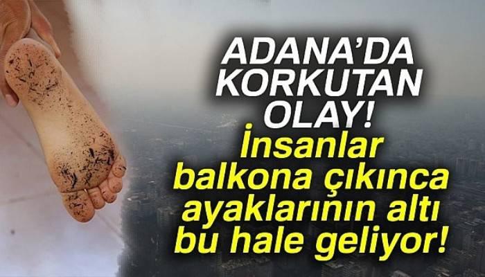 Adana duman altında kaldı