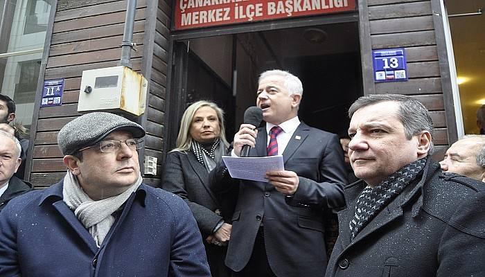 CHP'de Güneşhan adaylığını açıkladı! (VİDEO)