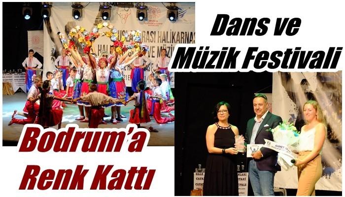 Dans ve Müzik Festivali Bodrum'a Renk Kattı