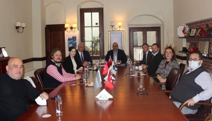 Ukrayna Büyükelçisi Sybiha ÇASİAD'ı Ziyaret Etti