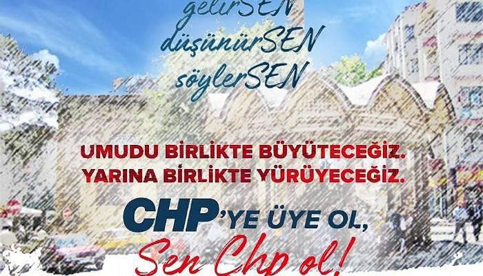 CUMHURİYET HALK PARTİSİNDEN BÜYÜK ÜYE KAMPANYASI