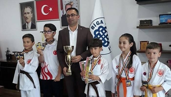 Başarılı Sporculardan Erdoğan'a Ziyaret