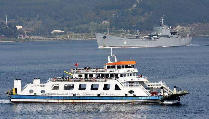 Rus savaş gemisi 'Orsk' Akdeniz'e iniyor (VİDEO)