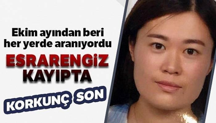 Kayıp Çinli kadının cesedi 60 santimetre derinlikte bulundu