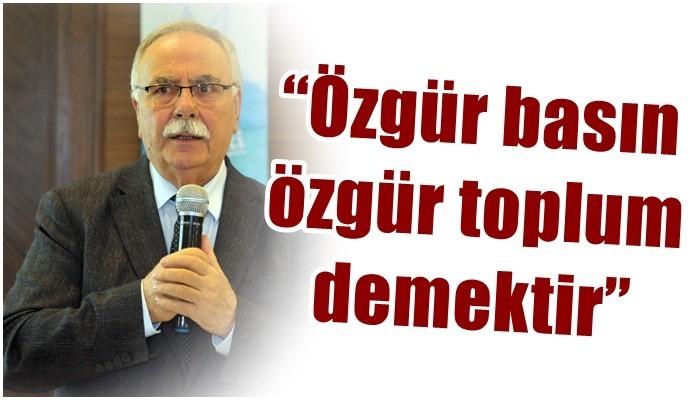 Belediye Başkanı Gökhan'ın 3 Mayıs Dünya Basın Özgürlüğü Günü mesajı
