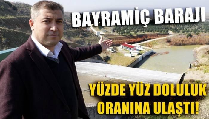 'Bin Pınarlı' Kaz Dağları, Bayramiç Barajı'nı doldurdu (VİDEO)