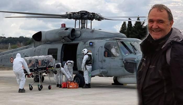 Helikopterle Çanakkale'ye sevk edilen koronavirüs hastası öğretmen kurtarılamadı