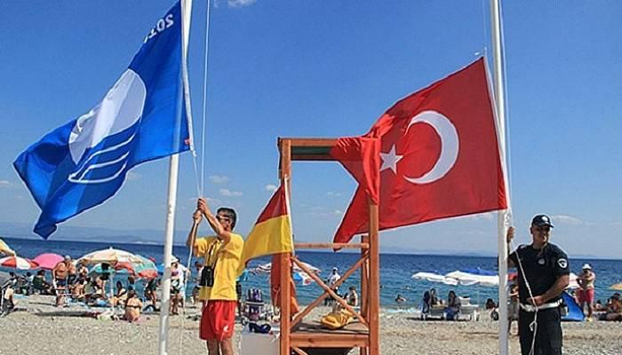 Mavi bayraklı 17 plajımız var!