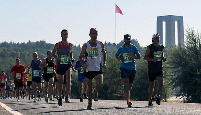 Türkiye'nin 'Barış' temalı maratonu yarın koşulacak