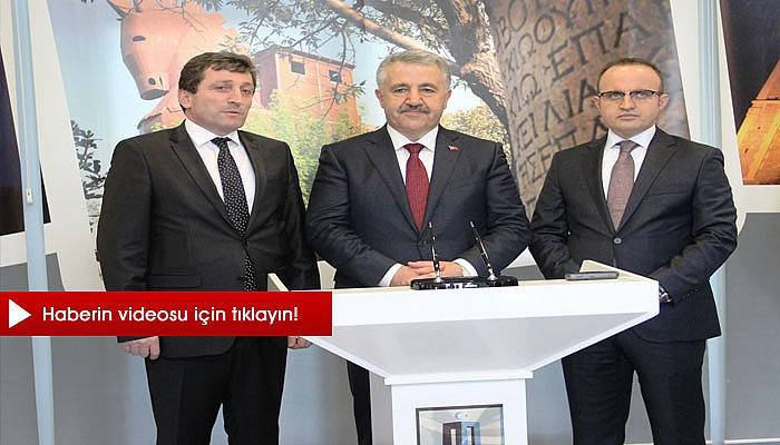 Bakan Ahmet Arslan Çanakkale Valiliğini ziyaret etti