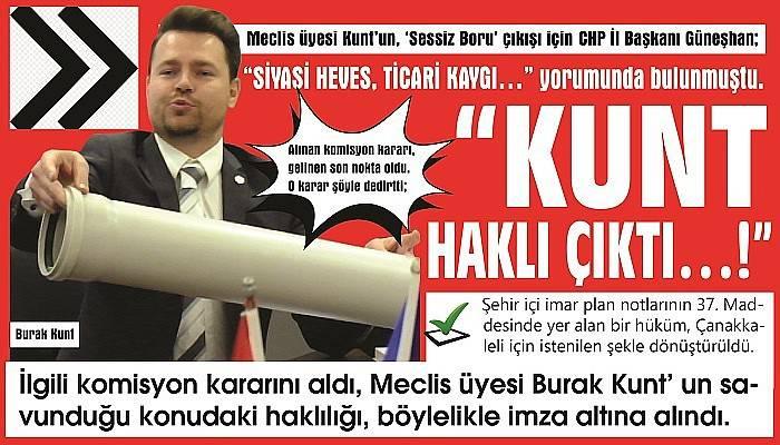 """KUNT HAKLI ÇIKTI…!"""