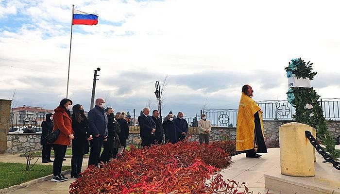 Beyaz Ruslar, yaşadıkları Gelibolu'da anıldı (VİDEO)