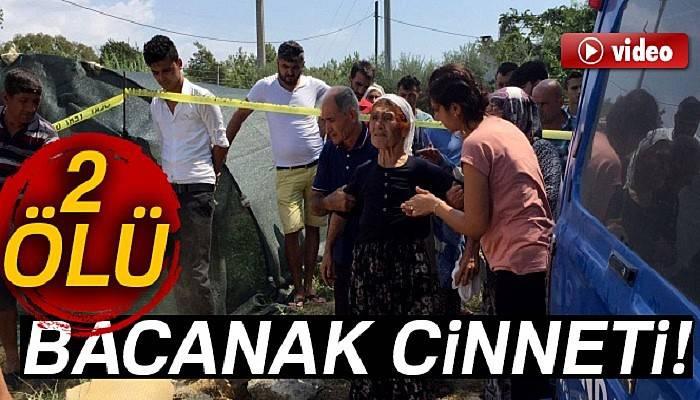 Antalya'da bacanak cinneti