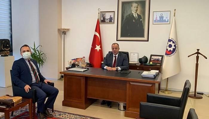 Vakıflar Bankası Şube Müdüründen ÇTSO'ya Ziyaret