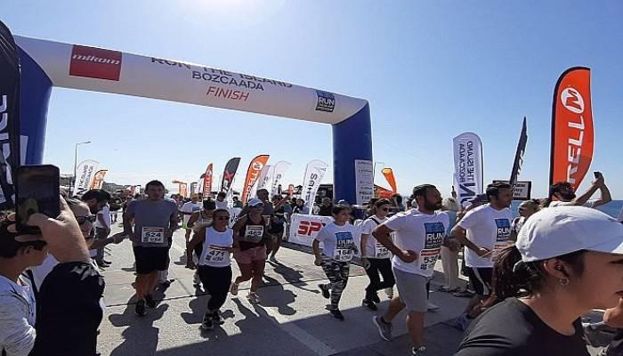 Run The Island Bozcaada Festivali yapıldı (VİDEO)