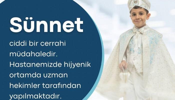 """ÖZEL BİGA CAN HASTANESİ'NDE """"SÜNNET"""""""