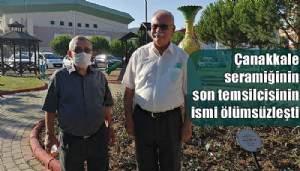 Çanakkale seramiğinin son temsilcisinin ismi ölümsüzleşti (VİDEO)