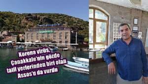Keskin: 'Assos'ta bu yıl sezon bitti' (VİDEO)