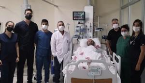 Yedi Kalp Damarına Koroner By-Pass Ameliyatı Yapıldı