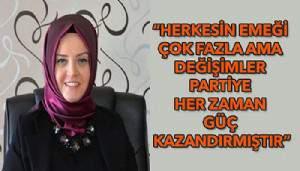"""AK Partili Aydoğan; """"Herkese kapımız açık"""""""