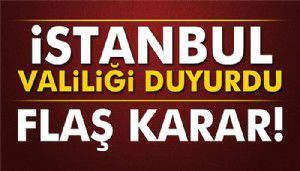 İstanbul Valiliği'nden 30 Ağustos açıklaması