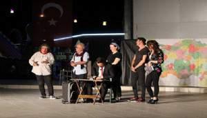 Çan'da ''Hikaye-i Kaymakam'' sahnelendi