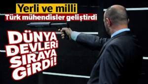 Türk mühendisler geliştirdi, dünya devleri sıraya girdi