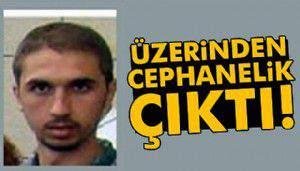 Ölü ele geçirilen DHKP-C'linin çantasından cephane çıktı
